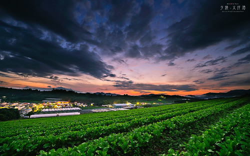 longexposure sunset landscape ed photography nikon slow g taiwan 南投 shutter 28 nikkor 台灣 kuo ultrawide afs township puli 埔里 firecloud nantou 田園 contry superwide 黑卡 火燒雲 swm 2013 1424 大坪頂 moson 夕燒 blcakcard
