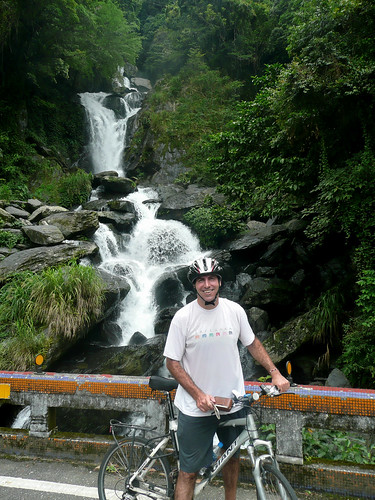 Waterfall to Fushan