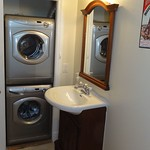 Washer Dryer in apartment bath