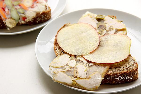 麵包隨意吃。軟凍三明治 Aspic -Belgium-20120619