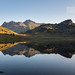 Blea Tarn and the Langdale Pikes at Dawn by Richard Berry Photography