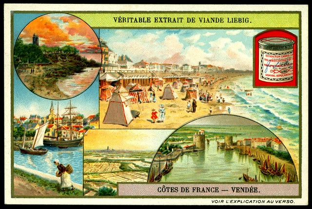 Liebig S953 The French Coastline ~ Vendee