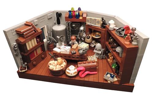 LEGO Indiana Jones - Professor Jones's office @ Barnett College