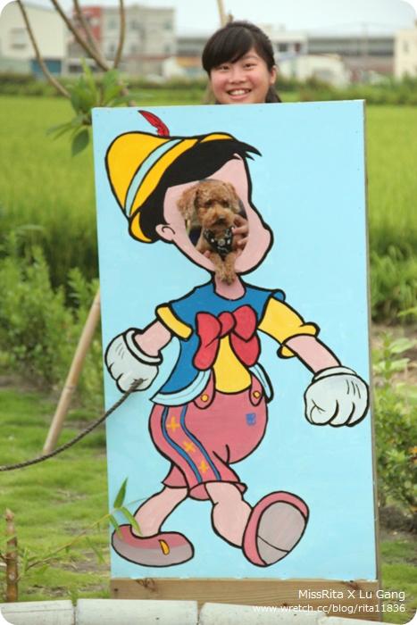 还有小木偶牵驴子卡通版子让你拍照哈哈!