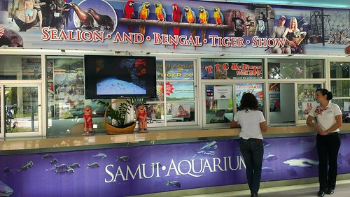 Koh Samui Aquarium & Tiger Zoo サムイ島 水族館 & タイガーZoo