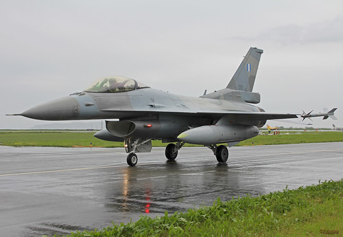 Hellenic AF F-16C 001 at Ørland (ENOL), 21. june 2013