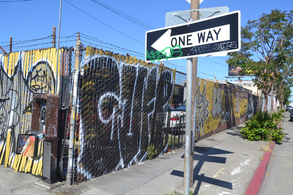 GUFE, BTH, Street Art, Graffiti, Oakland