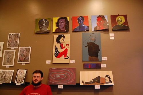 An Excellent Art Opening at Cure Coffee House