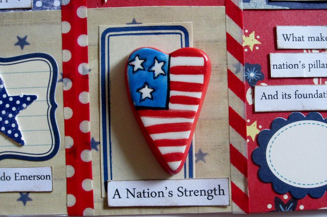 Red, White, & Blue Tiny Book 4