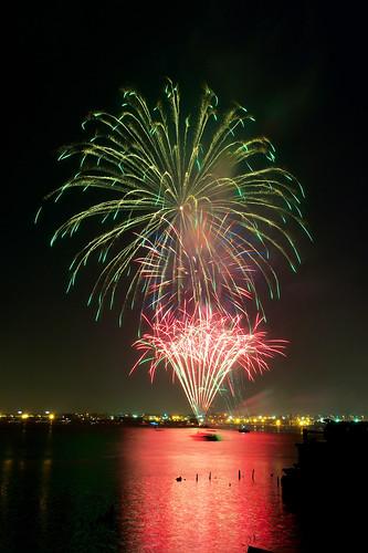 Fireworks by Armadillo Commander via I {heart} Rhody