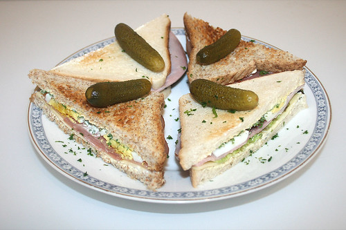 Sandwich-Kreationen / Sandwich creations