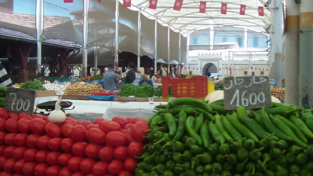 Central Market in downtown Tunis, July 2013. Image credit: Asma Smadhi, Tunisia Live