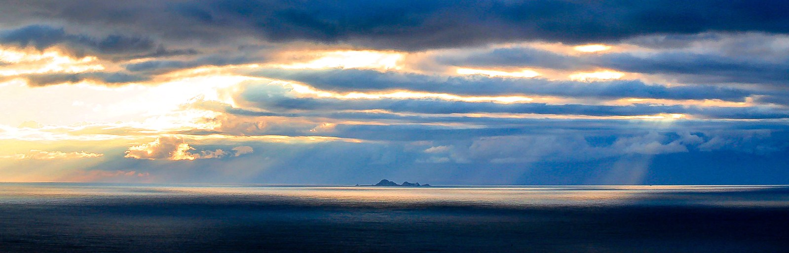 Dramatic Sky Over the Farallones