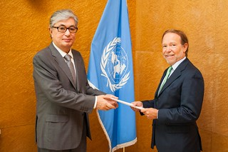 NEW PERMANENT REPRESENTATIVE OF CHILE PRESENTS CREDENTIALS TO DIRECTOR-GENERAL OF UNITED NATIONS OFFICE AT GENEVA