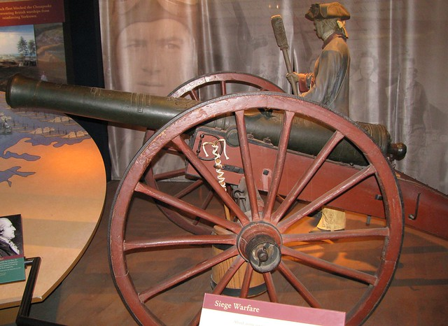 NMAH029 - American War of Independence (1775-1783) - French - 4 Pound Cannon - 1751