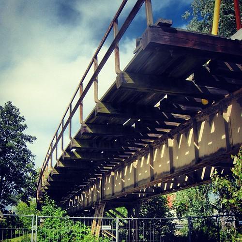 Den gamla järnvägsbron