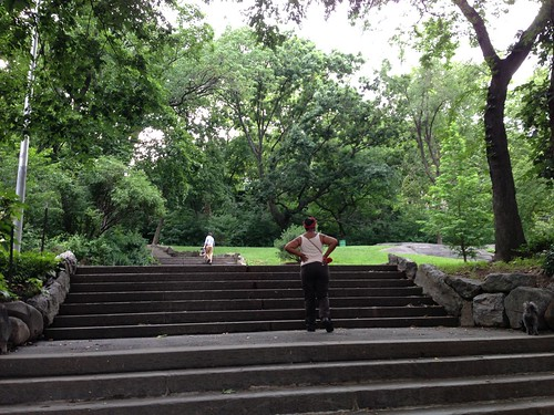 In Morningside Park, Harlem
