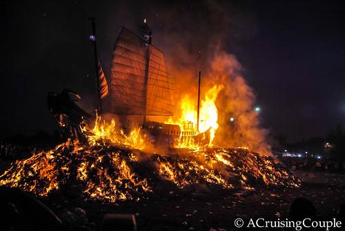 Wang Yeh Boat Burning Festival, Taiwan