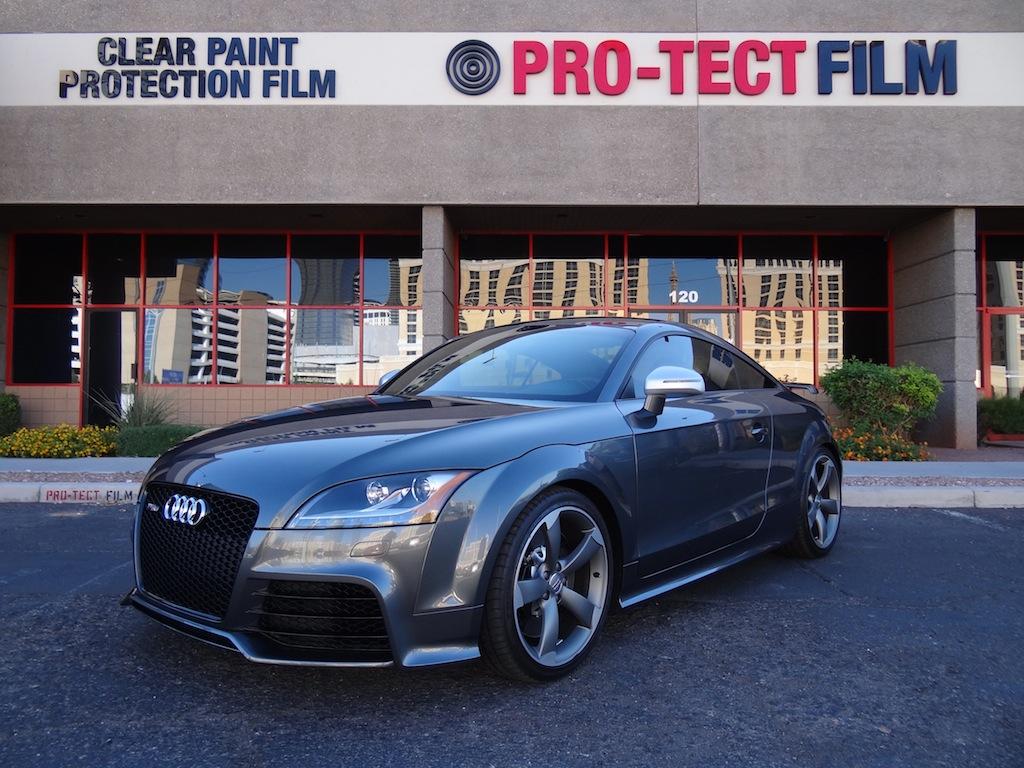 2013 Audi Tt Rs Full Frontal Clear Bra Coverage Clear Film