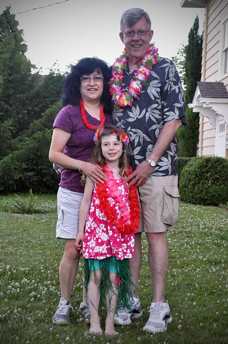 With Papa and Nana