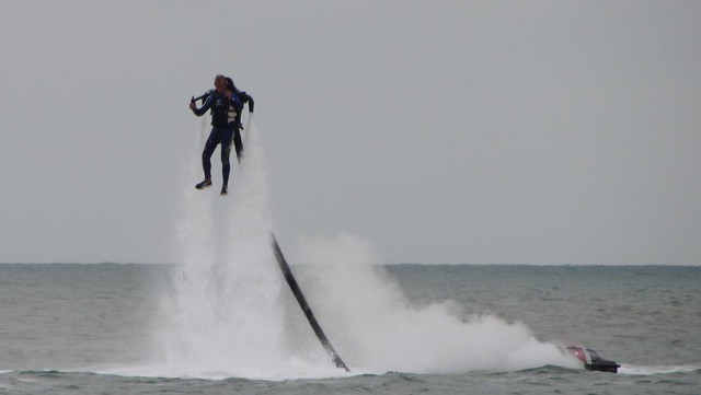 JetLev jet pack- Airbourne 2013