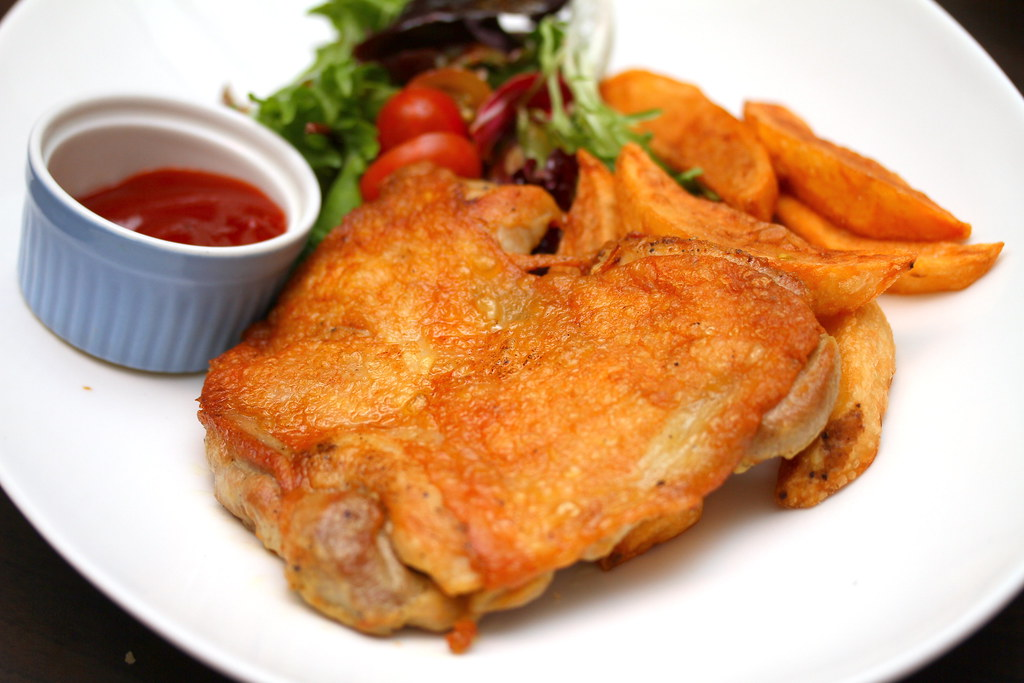 Noti Restaurant and Bar: Crispy Spring Chicken
