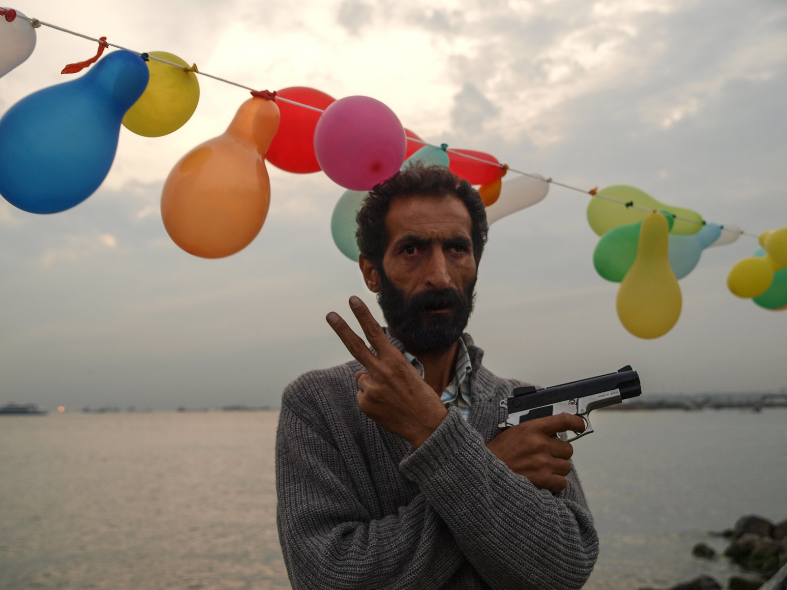 Istanbul - Le tenancier du stand de tir