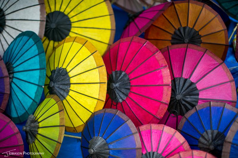 Umbrella Luang Prabang Market