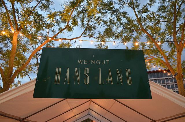 Wiesbaden Wine Fest 2013 Weingut Hans Lang sign