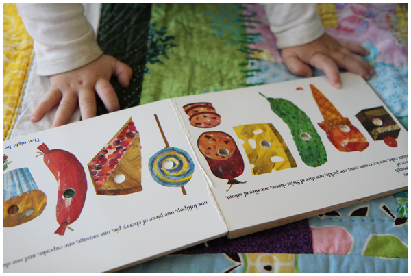 Eric Carle's The Very Hungry Caterpillar book
