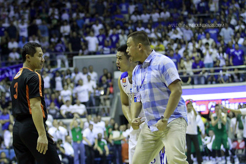 UAAP Season 76: De La Salle Green Archers vs. Ateneo Blue Eagles, Sept. 1