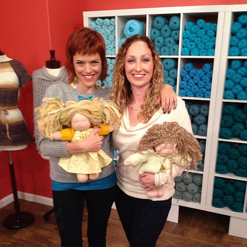 A trip to Knitting Daily TV with Vickie Howell