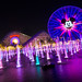 Disney California Adventure — All aglow on Paradise Bay by andy castro