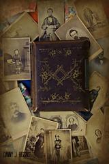 Album Of Found CDV's.