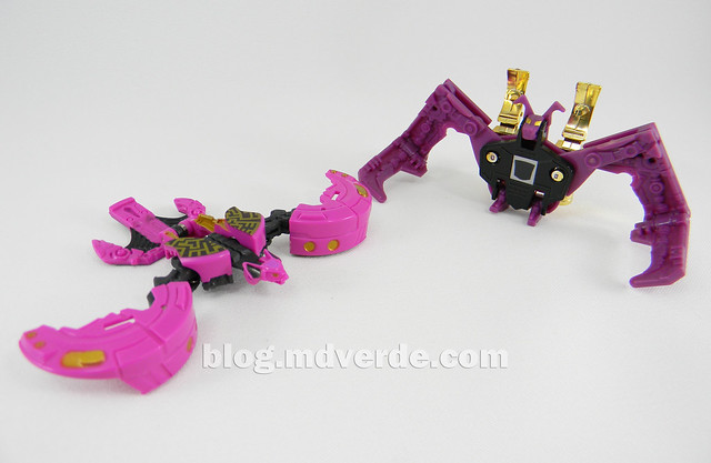 Transformers Ratbat Legends - Generations Fall of Cybertron - modo robot