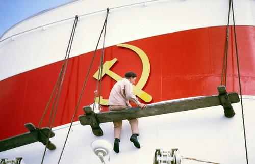 Soviet ship, Copenhagen, 1960s