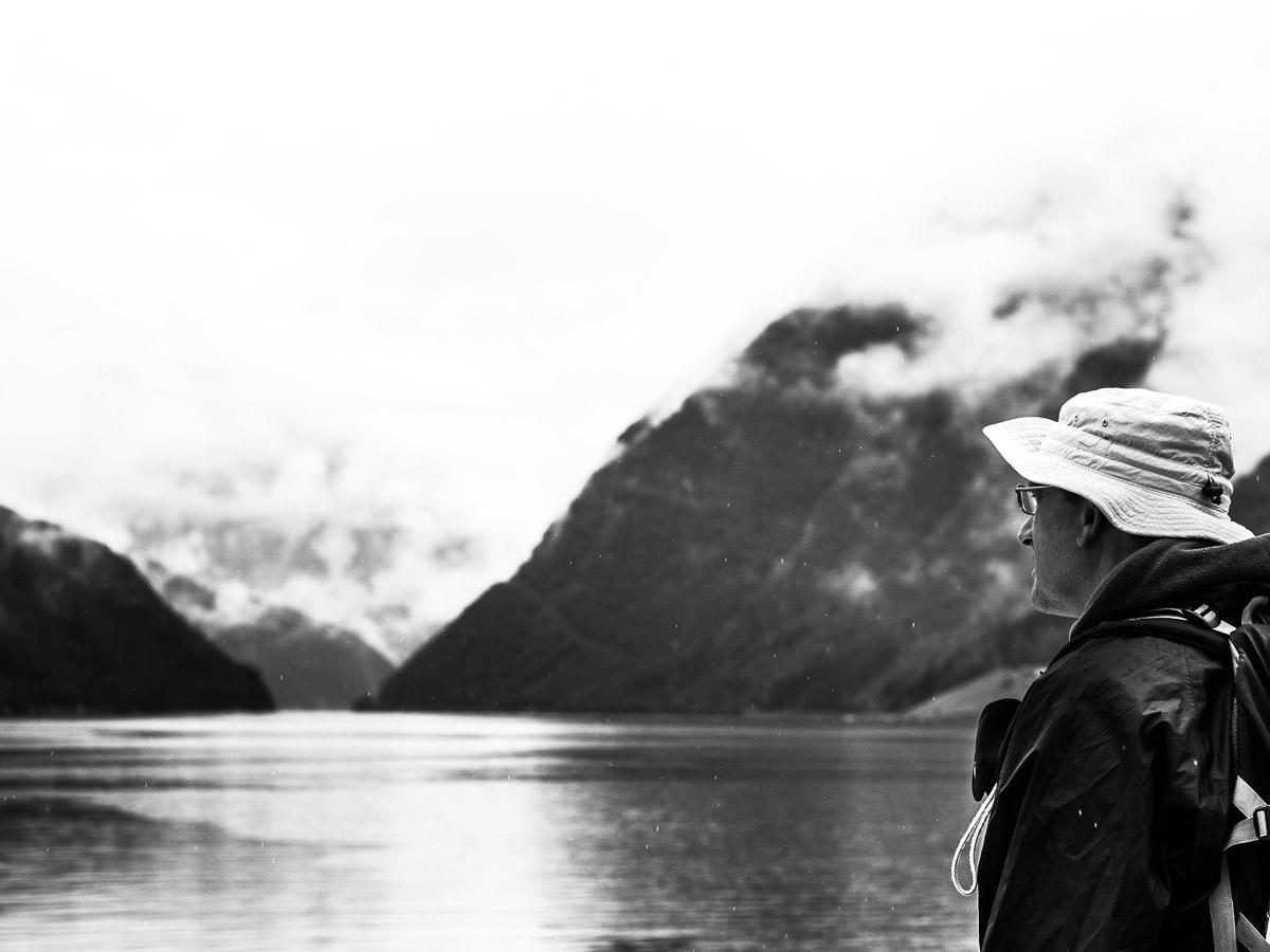 Navegando en Hardangerfjord