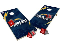 San Diego Chargers Custom Cornhole Boards XL