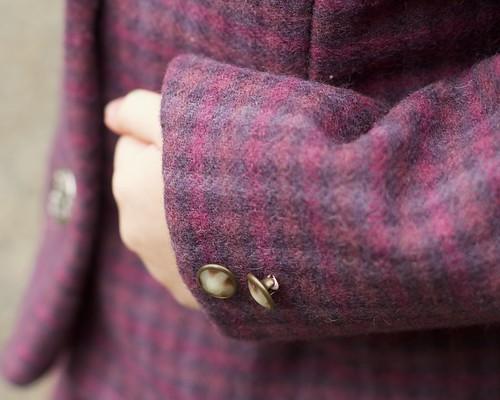 Vintage wool suit