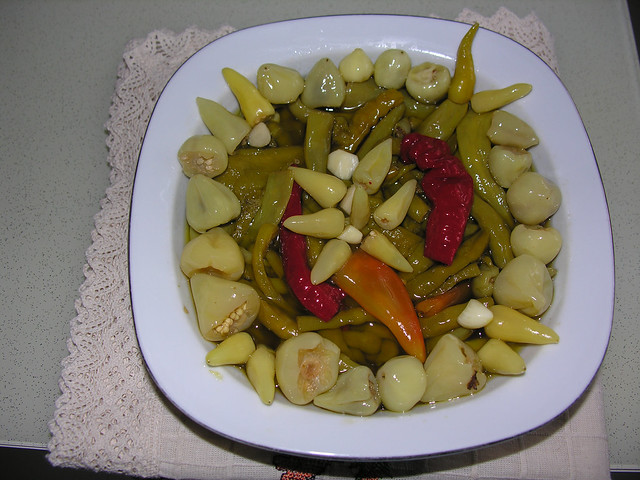 Turşu, salata