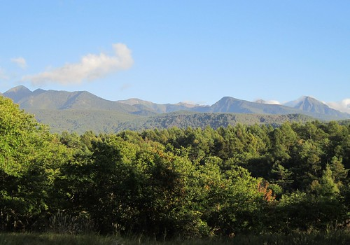 こぶし広場から見た八ヶ岳連峰 2013年9月24日16:55 by Poran111