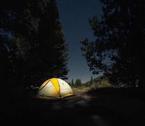 Camping at Rock Creek