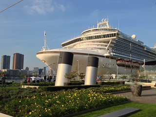 Obraz Wilhelmina. cruise rotterdam guernsey princesscruises crownprincess