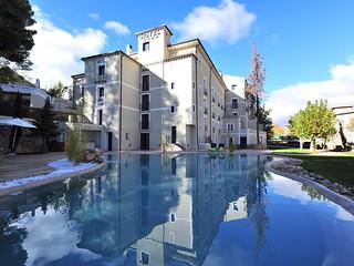 Exterior del Hotel-Balneario Alhama de Aragón.