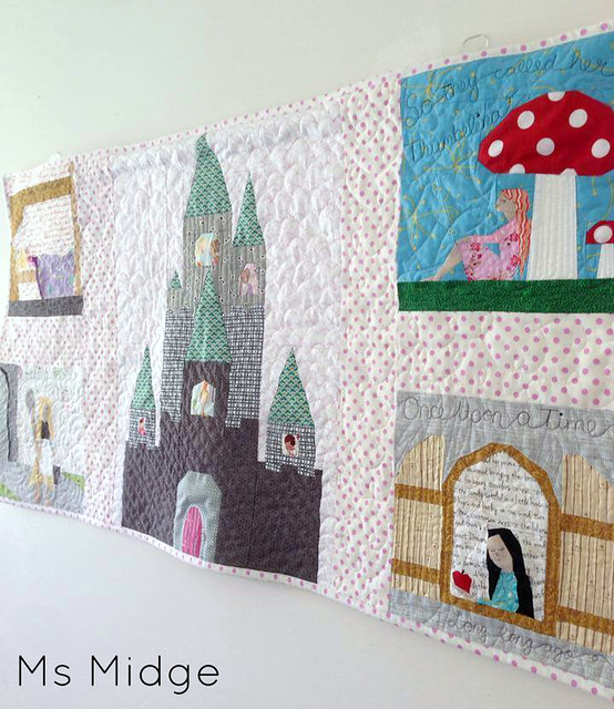 Fairytale Wall Hanging - Paper Pieced