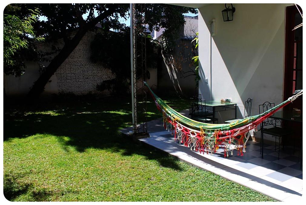 salta posada casa borgona hammock and garden