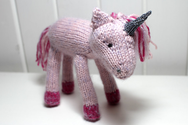 Knitting Patterns For Unicorns : Cuteness alert: Rosie the knitted unicorn on Its a Stitch Up Blog