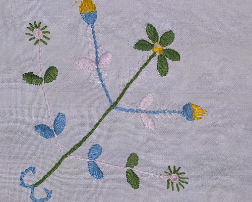 Old embroidery from Paredes de Coura
