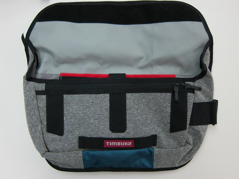 Timbuk2 Catapult Cycling Messenger Bag - Bag Open