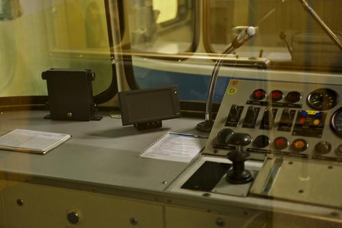 Der neue ASR-Bildschirm ersetzt die bisherige IBIS-Bedieneinheit